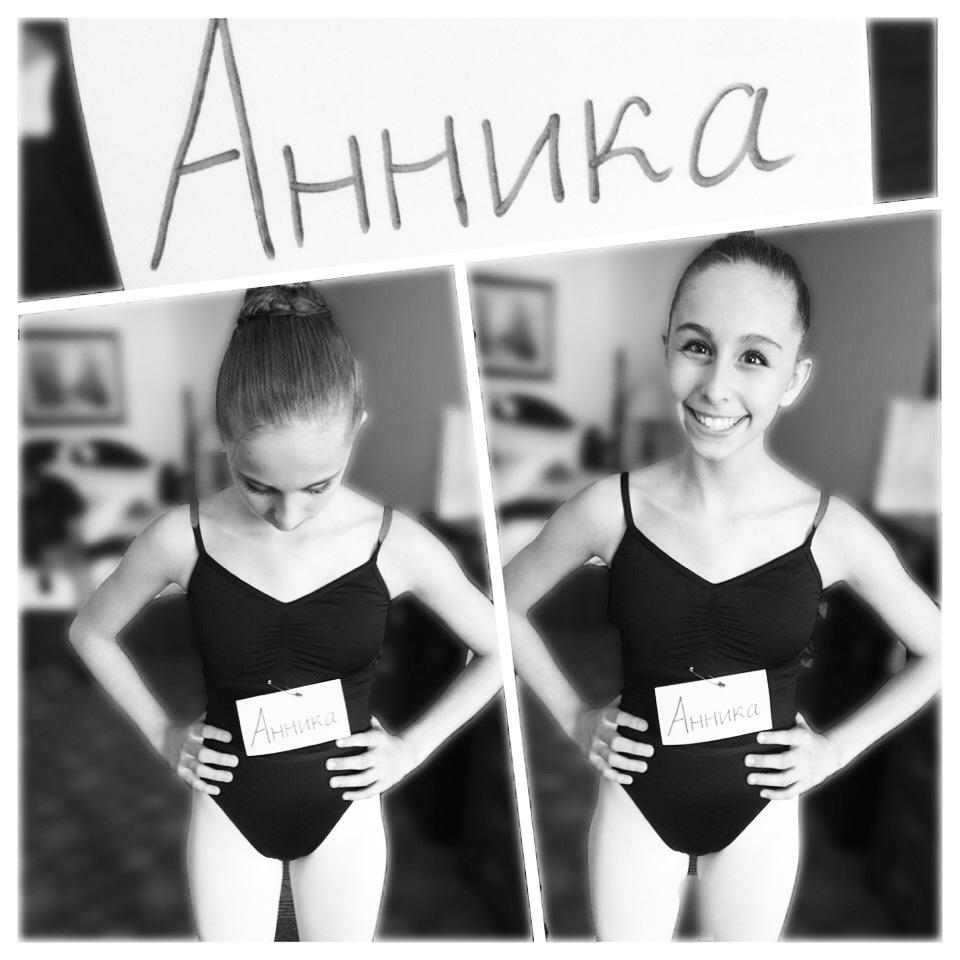 Annika Slaby Bolshoi Ballet Academy Summer Intensive